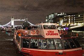 City Cruises ? London Dinner Cruise